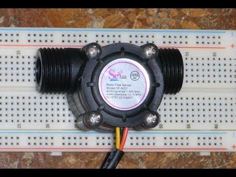 RPi 20 - YF-S201 Hall Effect Water Flow Meter / Sensor