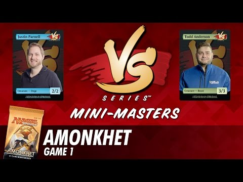 Mini-Masters: Amonkhet with Justin Parnell vs Todd Anderson - Game 1