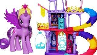 Мой маленький пони дружба Радуга Королевство набор - My Little Pony Friendship Rainbow Kingdom Set