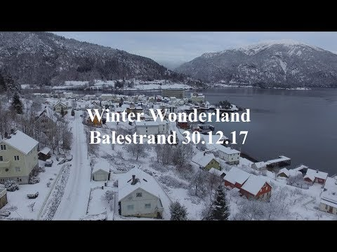 Winter Wonderland - Balestrand 30.12.17