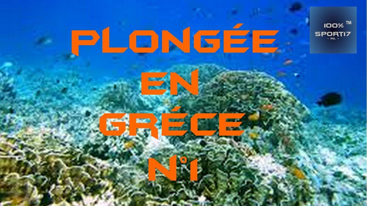 Faire de la plongée en grece