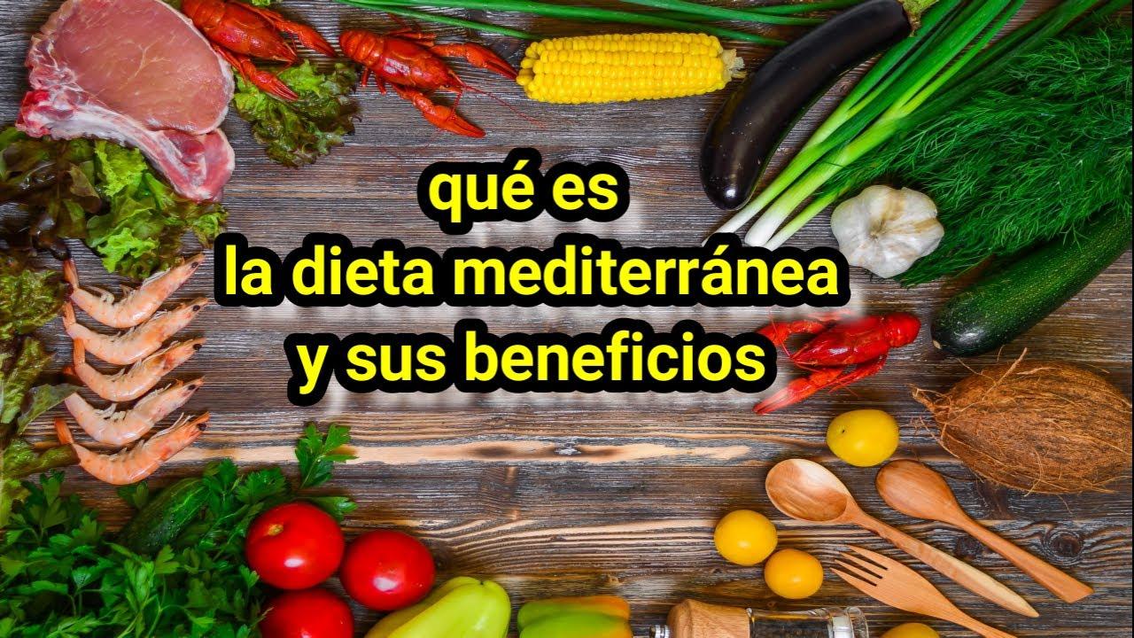 En Que Consiste La Dieta Mediterranea Que Ventajas Ofrece || Dieta Mediterránea Para Adelgazar