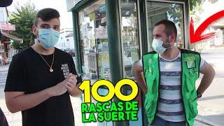 COMPRO 100 RASCAS DE LA SUERTE! ¿ME HAGO MILLONARIO?