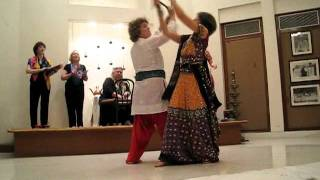 Dandiya Raas (India) performed by Libana at Ravi Shankar Center (New Delhi, India) 2011