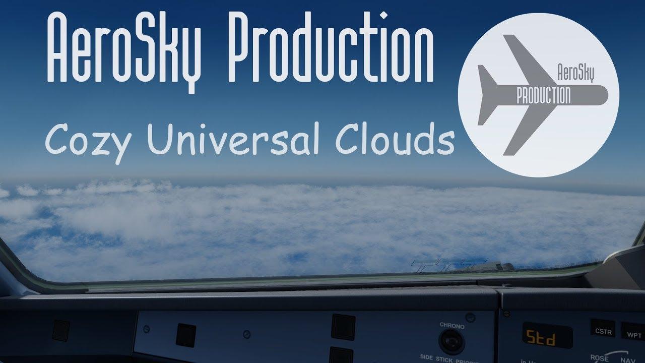 simMarket: AEROSKY PRODUCTION - COZY UNIVERSAL CLOUD FSX P3D