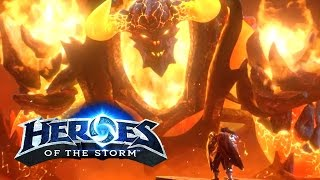 Varian and Ragnaros Hero Reveal Trailer - Forged by Fire: Heroes of the Storm | BlizzCon 2016