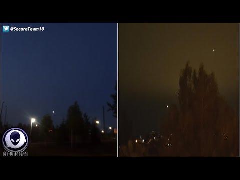 "Alaska Strangeness! Security Guy Watches UFO Drop ""Something"" Over Fairbanks! 7/2/16"