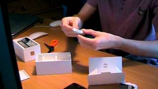 iPhone 4S - 32GB Black - Unboxing(A quick look at the new Apple iPhone 4S. I got the black 32GB model direct from Apple with a PAYG SIM from Giffgaff. The DIY-micro-SIM did, in fact, work, ..., 2011-11-29T17:00:21.000Z)