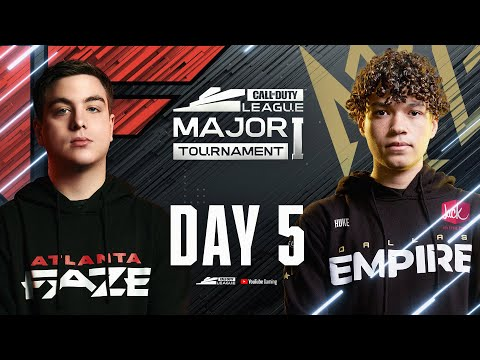 Call Of Duty League 2021 Season | Stage I Major | Day 5