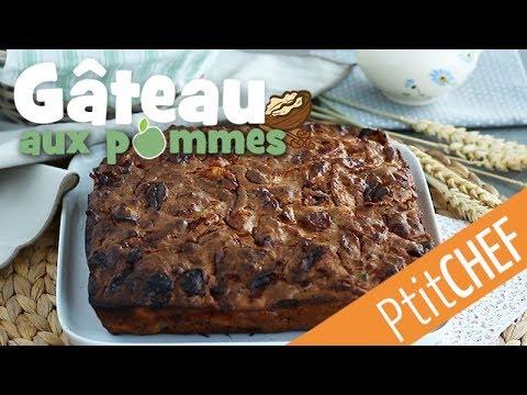 recette-de-gâteau-aux-pommes,-noix-et-cannelle---ptitchef.com