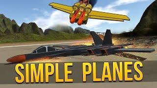 simpleplanes look ma no landing gear let s play simpleplanes simple planes gameplay