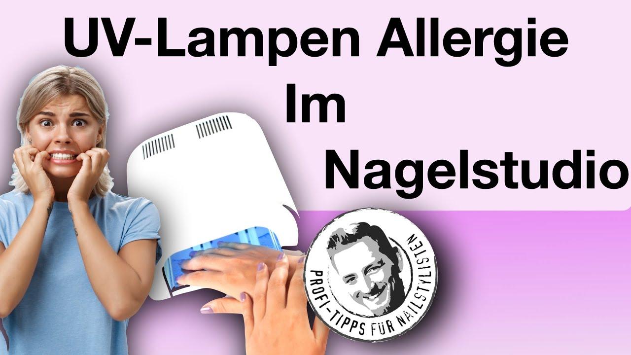 Allergie gegen UV-Lampe im Nagelstudio?!