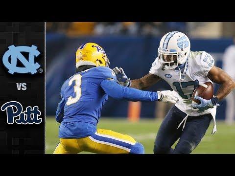 North Carolina vs. Pitt Highlights (2017)