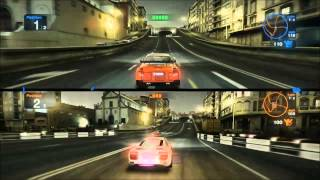 blur pc game: opel astra vs audi r8 race 1