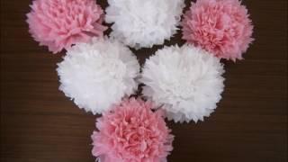 как сделать из салфеток цветы для украшения стола