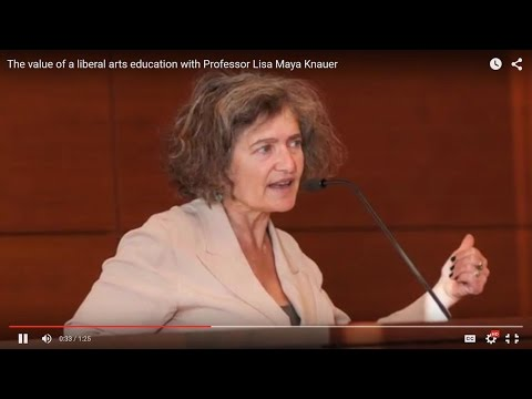 The value of a liberal arts education with Professor Lisa Maya Knauer