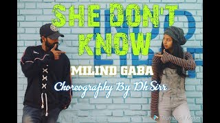 She Don t Know  Millind Gaba Song Hip Hop Dance Choreography by DH SIRR  Shabby   New Songs 2019   T