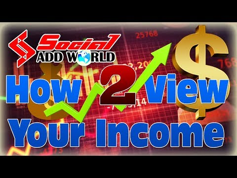 online earn money with social add world
