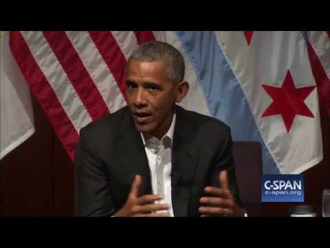 "Former President Obama: ""So, uh, what's been going on while I've been gone?"" (C-SPAN)"