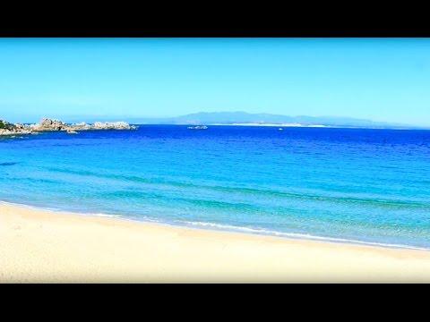 La Spiaggia della Rena Bianca (the white sand beach) S.Teresa Gallura Sardinia