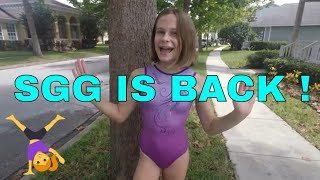 SGG IS BACK! Solid Gold Gymnasts Feat. Kyra from Seven Gymnastics Girls