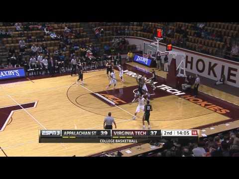 Appalachian State vs VT Basketball Highlights