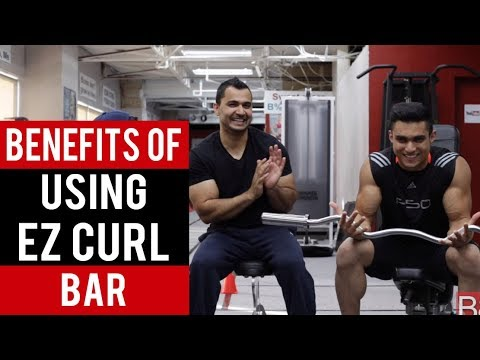 Proper TECHNIQUE / BENEFITS of using EZ CURL BAR! (Hindi / Punjabi)