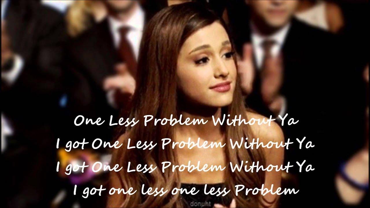 Problem - Ariana Grande ft. Iggy Azalea Lyrics - YouTube