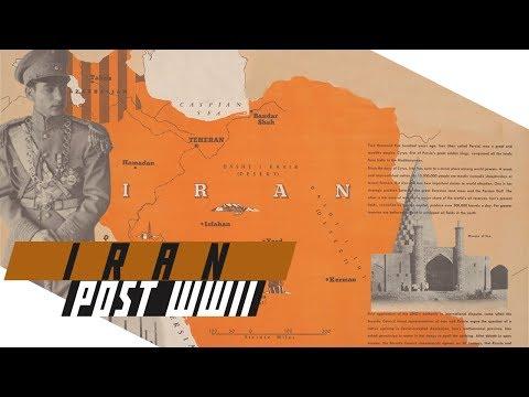 Post-WWII Iran -