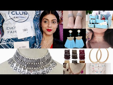 CLUB FACTORY HAUL INDIA | CLUB FACTORY JEWELLERY & HOUSEHOLD | Club Factory Return/Exchange Policy