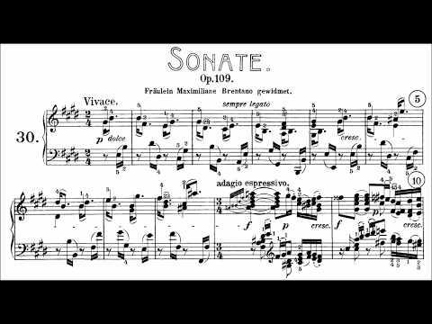 Beethoven: Sonata No.30 in E Major, Op.109 (Goode, Levit)