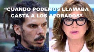 """¡VARAPALO DE ANA ROSA A LA PRESIDENTA DEL CONGRESO Y A LA """"CASTA"""" DE LOS AFORADOS DE PODEMOS!"""
