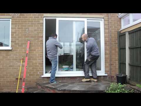 Liniar patio - how to remove the sliding sashes