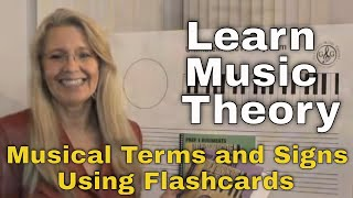 LEARN MUSIC THEORY How to learn musical terms and signs using Flashcards