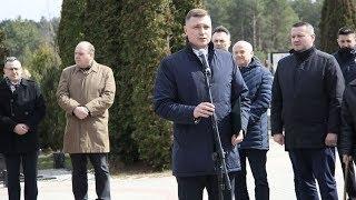 Obchody 79 rocznicy zbrodni katyńskiej - Jakub Frydryk, wiceprzewodniczący rady miasta