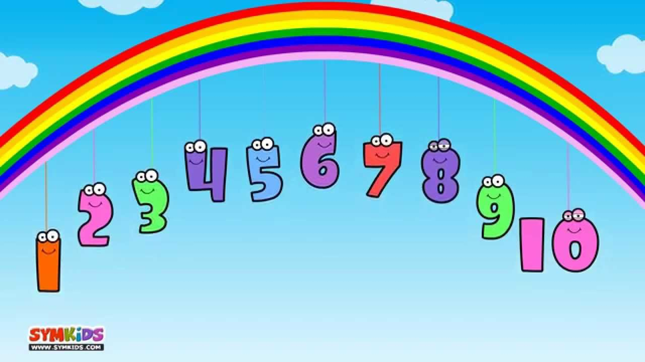 10 Little Numbers song for Children | Ten Little Numbers song | 123 song - YouTube