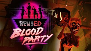Ben and Ed Blood Party Gameplay (PC)