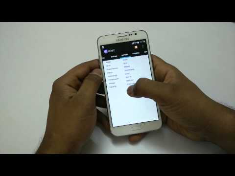 Samsung Galaxy Grand Max Benchmarks