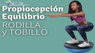 EJERCICIOS De EQUILIBRIO Y PROPIOCEPCIÓN De TOBILLO Y RODILLA - BOSU Fisioterapia | Fisiolution