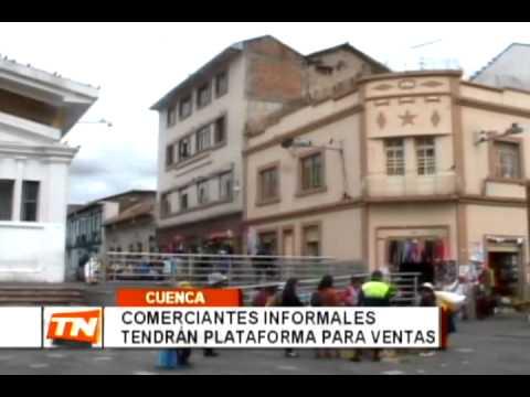 Comerciantes informales tendrán plataforma para ventas