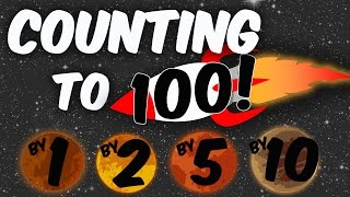 Counting to 100 Songs for Children - Count to 100 - Count 1 to 100 - Count by 1's 2's 5's 10's to 10