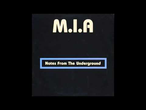 M.I.A. - Notes From The Underground (1985) FULL ALBUM