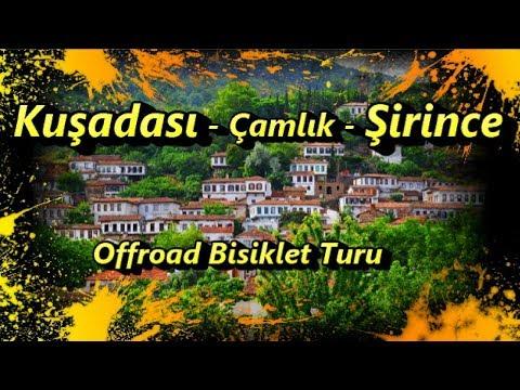 Kuşadası - Çamlık - Şirince offroad bisiklet turu 2017/06
