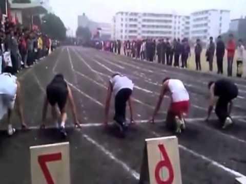 Fehlstart beim 100m-Lauf