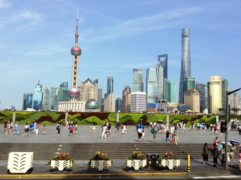 Shanghai Sightseeing on City Tour Bus