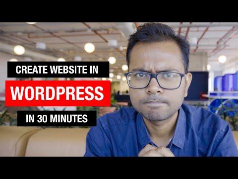 How to make Wordpress Website in Hindi? Step by Step guide for beginners |  Genesis Theme Tutorial