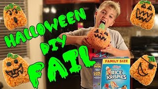 HALLOWEEN TREATS DIY FAIL