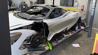 the McLaren 720s is ready to be PAINTED ! - Episode 20