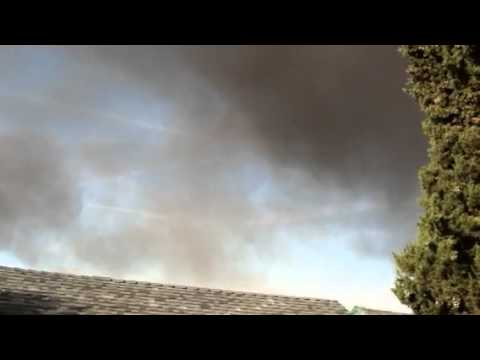 Antioch,ca fire w/ chemtrails