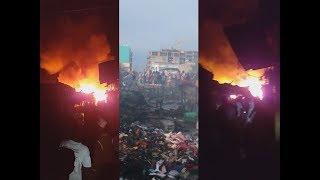 Urgent - Nouvel incendie au marché de Tamba